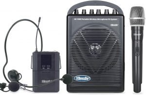 portable microphone and speaker for presentations