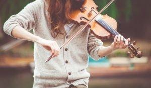 mic for recording violin
