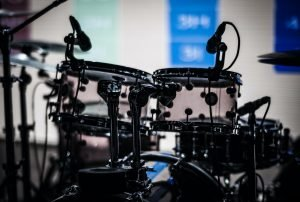 overhead drum mics pair